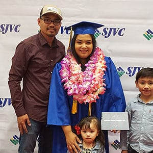 Student refreshes her job skills and self-confidence in SJVC's Business Office Administration program