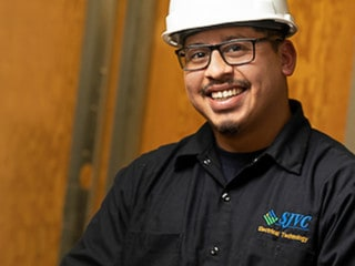 Student at SJVC's Fresno Trades Education Center