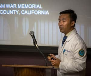 SJVC Physician Assistant students honor veterans