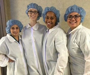SJVC Visalia Medical Assistants visit Kaweah Delta District Hospital