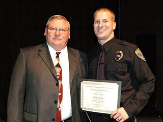 SJVC Bakersfield Criminal Justice Corrections Instructor Bob Stratton and son Brent